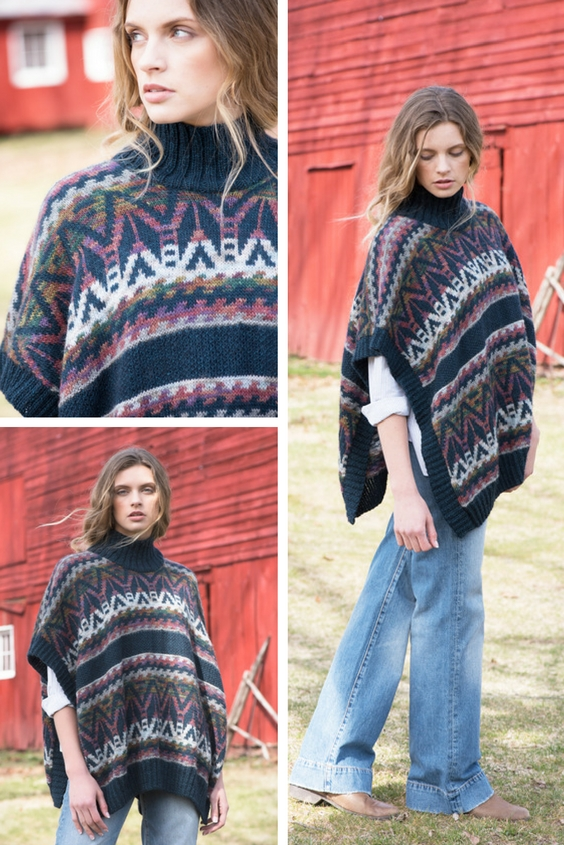 COLLAGE 2 Mountainside Poncho