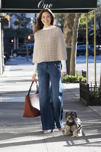 Waverly Place Poncho in PATTI - Alternate View
