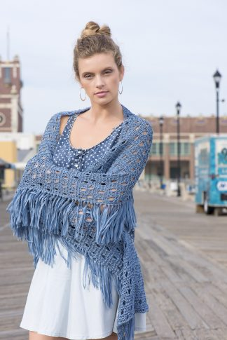 Asbury Park Shawl in SKINNY JEANS