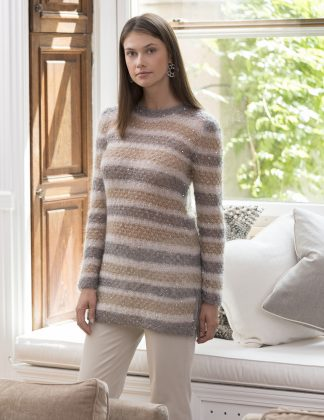 Ansonia Lacy Tunic in BLUEBELL