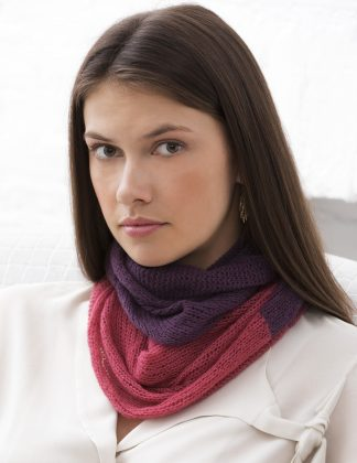 Excelsior Colorblock Cowl in IMPERIAL