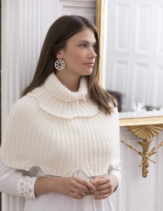 El Dorado Ribbed Capelet & Empire Ribbed Cowl in BIOMERINO