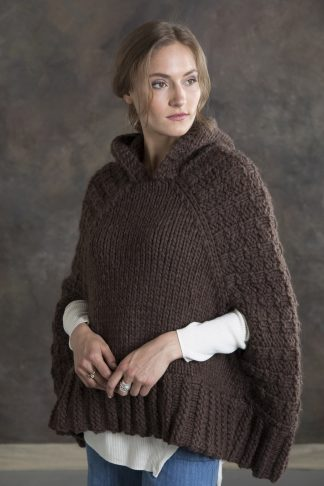 Hawthorne Hooded Poncho in BIG MONTANA