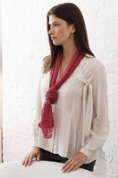 Juilliard Lace Scarf in IMPERIAL