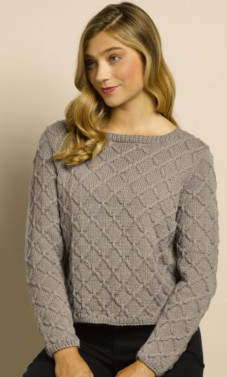 Doulton Diamond Cable Pullover
