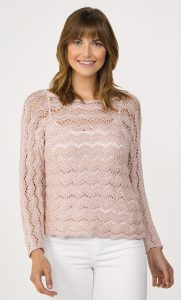 Jocelyn Pullover in ELEGANT