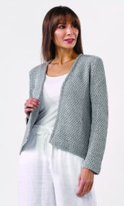Nova Cardigan in WINDSURF LUX