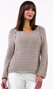 Riley Pullover in WINDSURF LUX